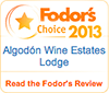 Fodor's Choice 2013 (Wine Estates)