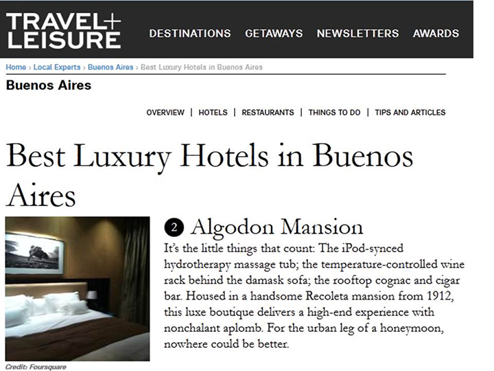 TravelandLeisure Best Luxury Hotels in Buenos Aires - Algodon Mansion 720w.jpg
